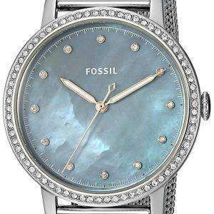 Fossil Neely Quartz Diamond Accent ES4313 Women's Watch