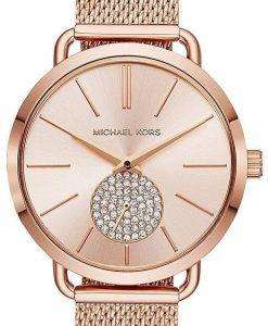 Michael Kors Portia Quartz Diamond Accent MK3845 Women's Watch