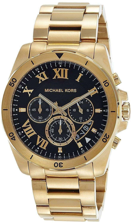 d89abaaedd426 Michael Kors Brecken Chronograph Quartz MK8481 Men s Watch ...