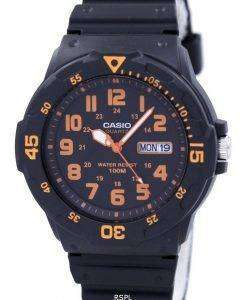 Casio Quartz Analog Black Dial MRW-200H-4BVDF MRW-200H-4BV Mens Watch