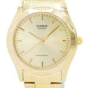 Casio Quartz Analog Gold Plated MTP-1275G-9ADF MTP-1275G-9A Mens Watch