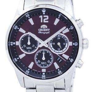 Orient Sports Chronograph Quartz Japan Made RA-KV0004R00C Men's Watch