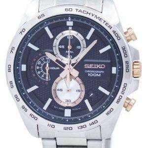 Seiko Sports Chronograph Tachymeter Quartz SSB281 SSB281P1 SSB281P Men's Watch