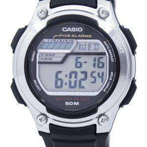 Casio Digital 5 Alarms Illuminator W-212H-1AVDF W-212H-1AV Mens Watch