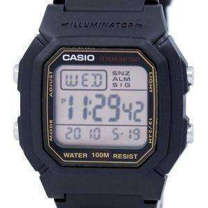 Casio Digital Alarm Illuminator W-800HG-9AVDF W-800HG-9AV Mens Watch