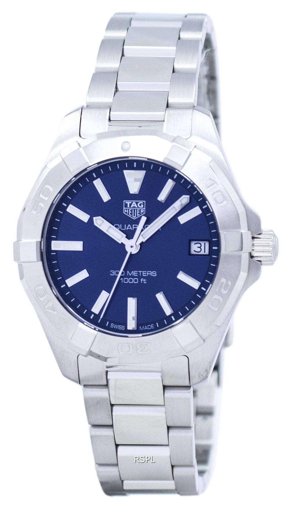 Tag heuer aquaracer quartz wbd1312 ba0740 women 39 s watch for Tag heuer women
