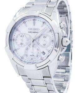 Seiko Chronograph Quartz SRW807 SRW807P1 SRW807P Women's Watch