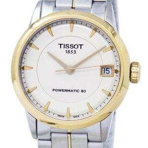Tissot T-Classic Luxury Powermatic 80 T086.207.22.261.00 T0862072226100 Women's Watch