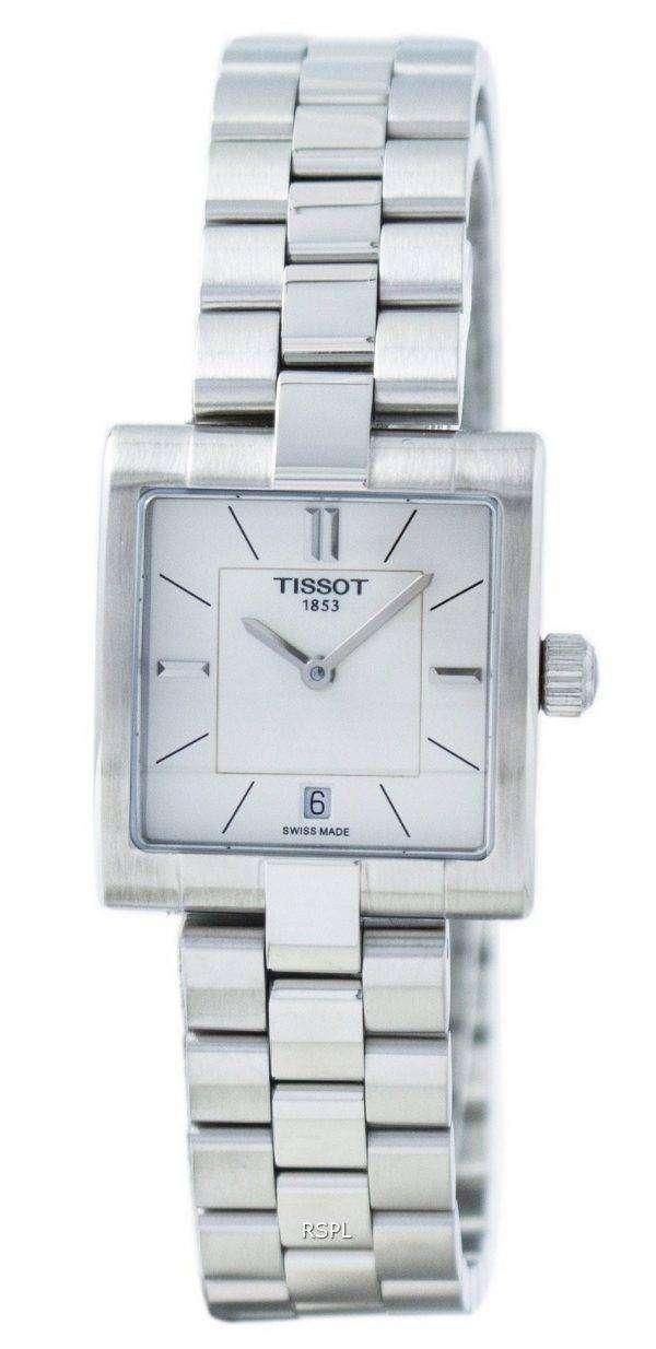 Tissot T-Lady T02 Quartz T090.310.11.111.01 T0903101111101 Women's Watch