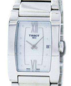 Tissot Generosi-T Quartz Diamond Accent T105.309.11.116.00 T1053091111600 Women's Watch