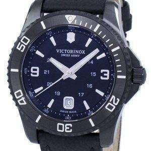 Victorinox Maverick Large Black Edition Swiss Army Quartz 241787 Men's Watch