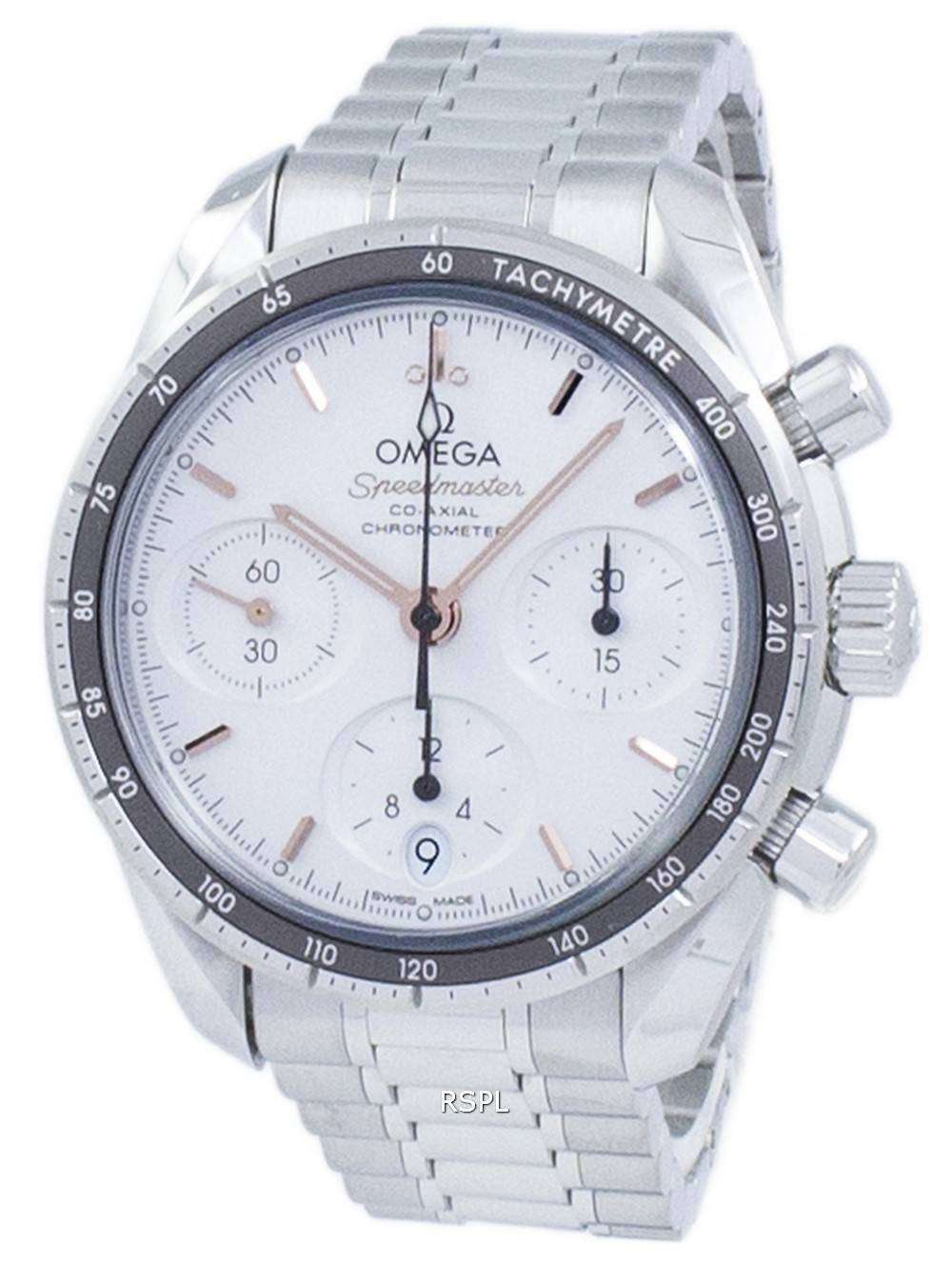 72e5f8bb733 Omega Speedmaster Co-Axial Chronograph Automatic 324.30.38.50.02.001 Unisex  Watch