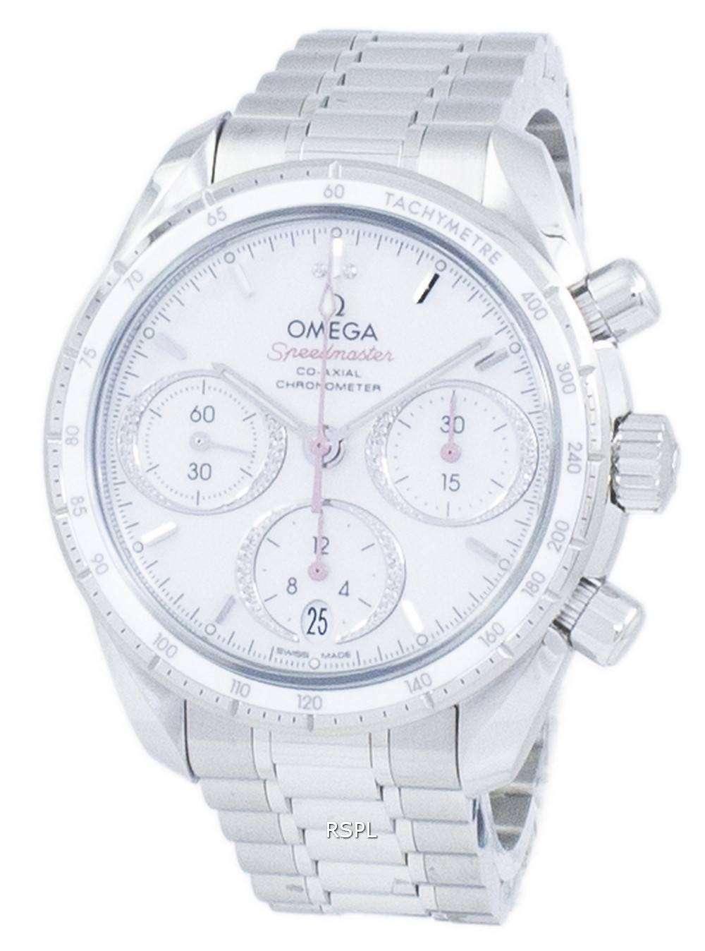 ea43cedaa48 Omega Speedmaster Co-Axial Chronograph Automatic 324.30.38.50.55.001 Men s  Watch