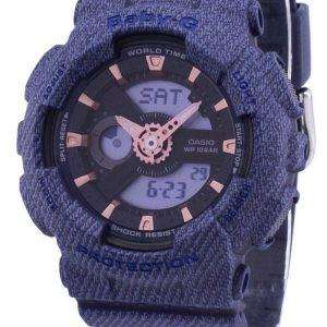 Casio G-Shock Baby-G World Time Analog Digital BA-110DE-2A1 BA110DE2A1 Women's Watch