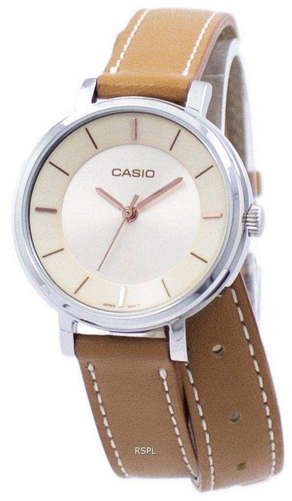 Casio Analog Quartz Double Loop LTP-E143DBL-5A LTPE143DBL-5A Women's Watch