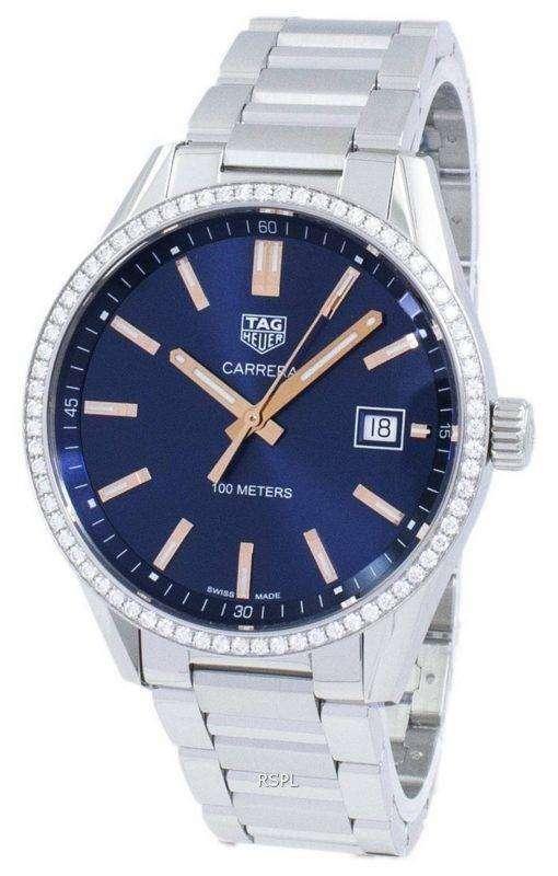Tag Heuer Carrera Quartz Diamond Accents WAR1114.BA0601 Women's Watch
