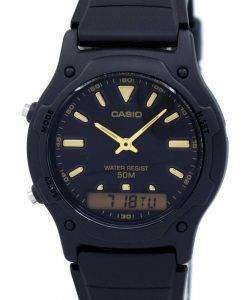 Casio Analog Digital Quartz Dual Time AW-49HE-1AVDF AW-49HE-1AV Mens Watch