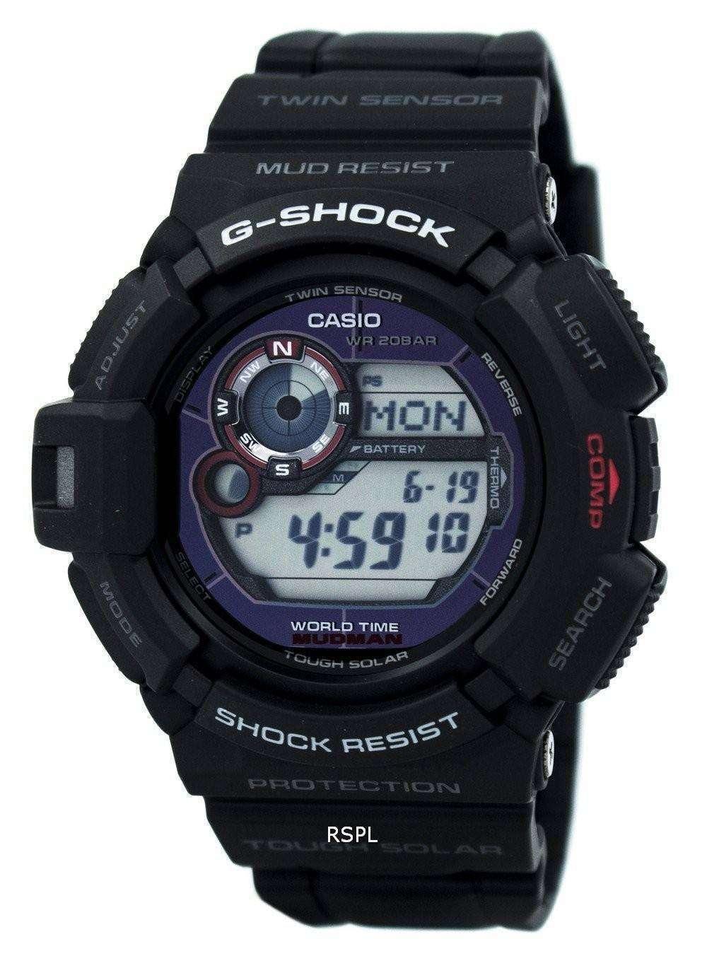 Casio G-Shock Mudman G-9300-1D Mens Watch - CityWatches.co.uk