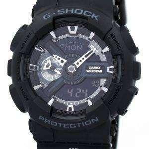 Casio G-Shock GA-110-1B GA-110-1 Mens Watch