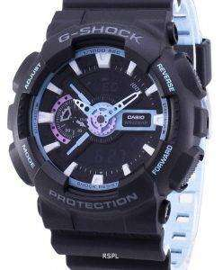 Casio G-Shock Shock Resistant Analog Digital GA-110PC-1A GA110PC-1A Men's Watch