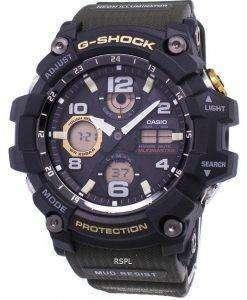 Casio G-Shock Mudmaster Tough Solar 200M GSG-100-1A3 GSG100-1A3 Men's Watch
