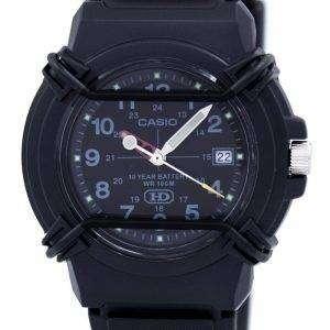 Casio Enticer Analog Black Dial HDA-600B-1BVDF HDA-600B-1BV Mens Watch