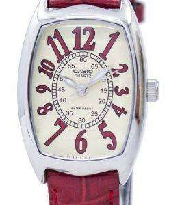 Casio Quartz Analog LTP-1208E-9B2DF LTP-1208E-9B2 Womens Watch