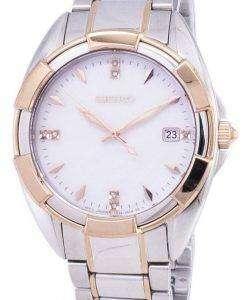 Seiko Quartz Diamond Accents SKK888 SKK888P1 SKK888P Women's Watch