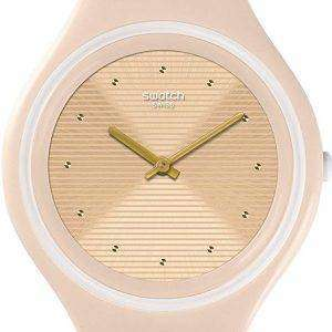Swatch Big Skinskin Analog Quartz SVUT100 Unisex Watch