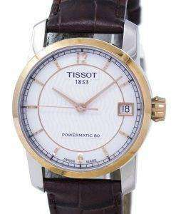 Tissot Titanium Powermatic 80 T087.207.56.117.00 T0872075611700 Women's Watch