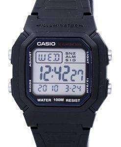 Casio Digital Classic Illuminator W-800H-1AVDF W-800H-1AV Mens Watch