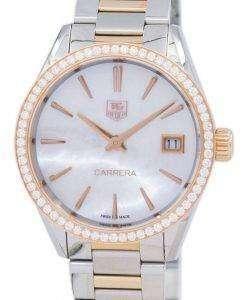 TAG Heuer Carrera Quartz Diamond Accent WAR1353.BD0779 Women's Watch