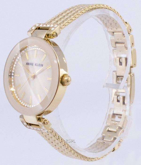 Anne Klein Quartz Diamond Accents 1906TMGB Women's Watch