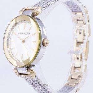 Anne Klein Quartz Diamond Accents 1907SVTT Women's Watch