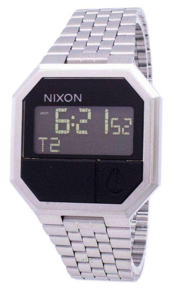 Nixon Re-Run Dual Time Alarm Digital A158-000-00 Men's Watch