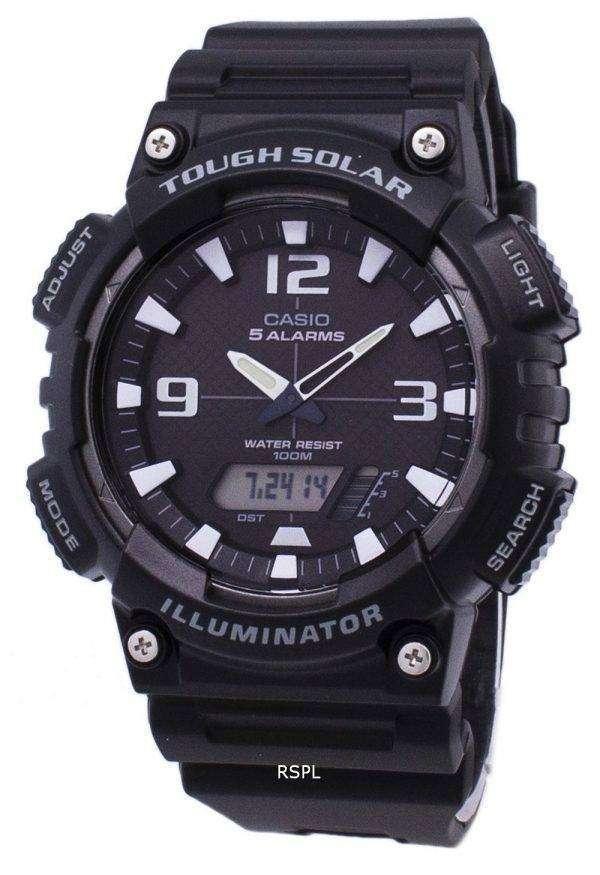 Casio Analog Digital Tough Solar AQ-S810W-1AVDF AQ-S810W-1AV Mens Watch