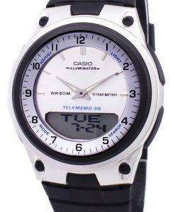 Casio Analog Digital Telememo Illuminator AW-80-7AVDF AW-80-7AV Mens Watch