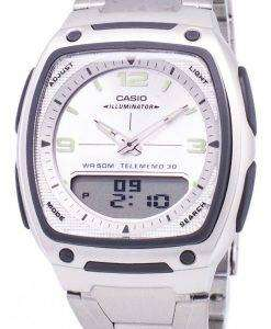 Casio Analog Digital Telememo Illuminator AW-81D-7AVDF AW-81D-7AV Mens Watch