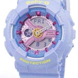 Casio Baby-G Analog Digital World Time BA-110CA-2A Women's Watch