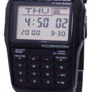 Casio Digital Data Bank 5 Alarm Multi-Lingual DBC-32-1ADF DBC-32-1A Mens Watch
