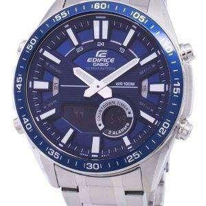 Casio Edifice Alarm Analog Quartz EFVC100D-2AV EFV-C100D-2AV Men's Watch