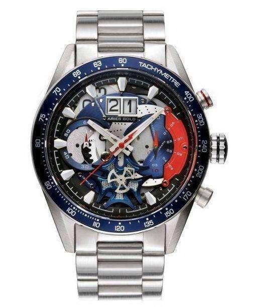 Aries Gold Inspire Jolter Quartz G 7008 S-BU Men's Watch