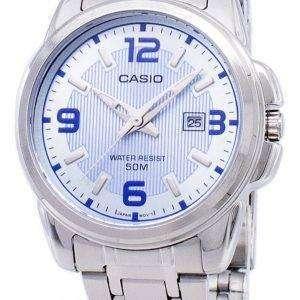 Casio Enticer Analog Quartz LTP-1314D-2AVDF LTP-1314D-2AV Womens Watch