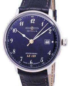 Zeppelin Series LZ 129 Hindenburg Germany Made 7046-3 70463 Men's Watch