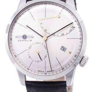 Zeppelin Series Flatline Power Reserve Germany Made 7366-4 73664 Men's Watch