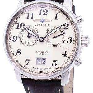 Zeppelin Series LZ127 Graf Germany Made 7684-5 76845 Men's Watch