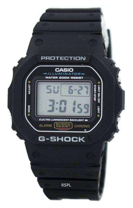 Casio G-Shock Illuminator Alarm Chrono DW-5600E-1V Mens Watch