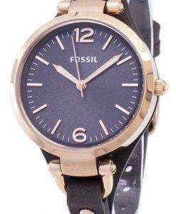 Fossil Georgia Grey Dial ES3077 Womens Watch