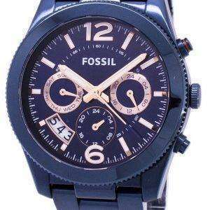 Fossil Perfect Boyfriend Multifunction Dual Time Quartz ES4093 Women's Watch