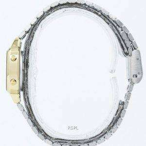 Casio Digital Stainless Steel Alarm Timer LA670WGA-9DF LA670WGA-9 Womens Watch